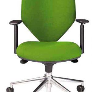 silla de escritorio modelo cozy 1A , imagente frontal