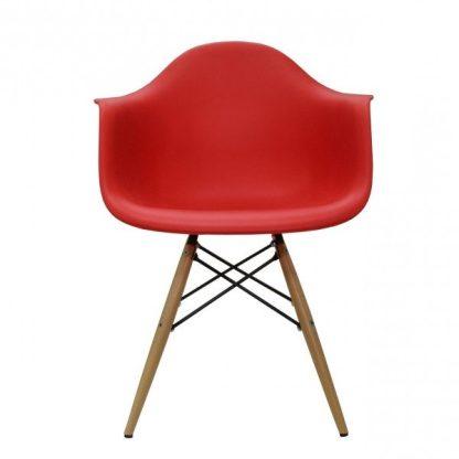 silla eames or 1120 rojo