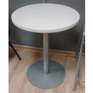 Mesa estandar laminada base disco blanca