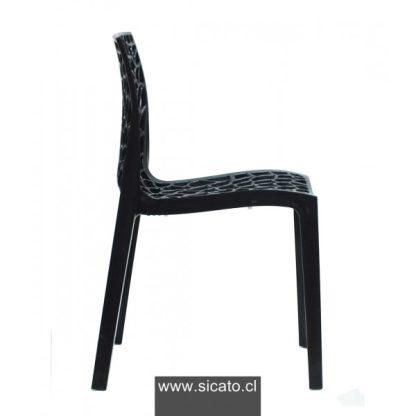 Silla italiana Gruvier Negra | Blanca