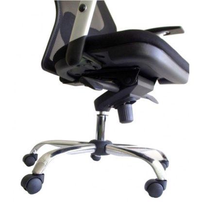 Silla de Oficina | New Erick base cromada sin cabecero