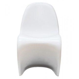 Silla estilo Panton Negra 1115
