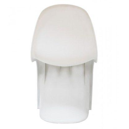 Silla estilo Panton blanco 1115