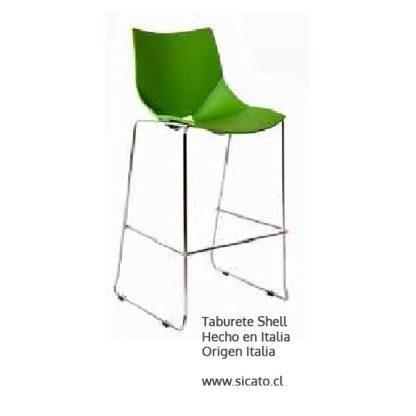 Taburete Shell Italiano