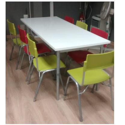 mesa rectangular simple