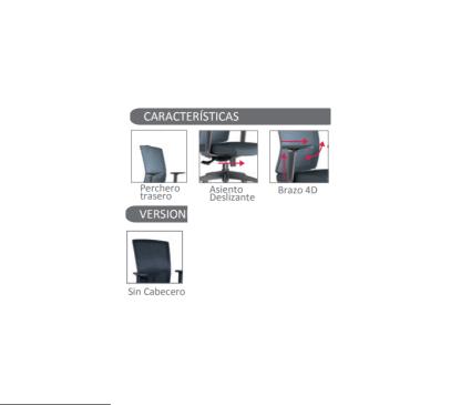 caracteristicas de silla boss