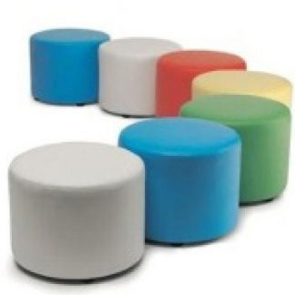 pouf de colores