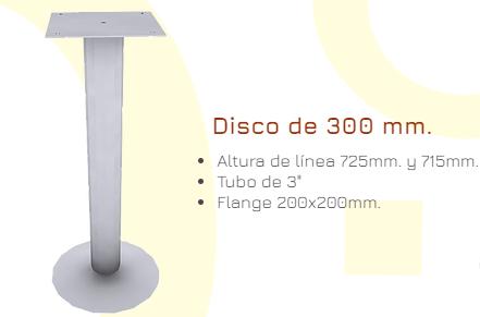 Bases pilares para Mesas 3