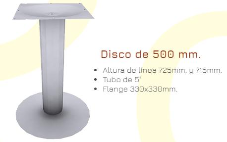 Bases pilares para Mesas 2