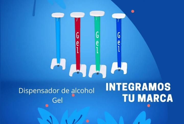 Dispensador de alcohol gel