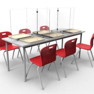 pantalla acrilica para mesas